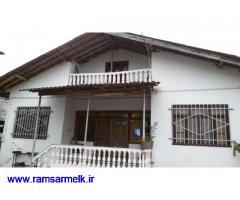 فروش ویلای قدیمی ساز 3 خوابه در رامسر (کد: 1007)