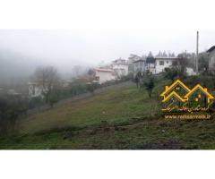 فروش زمین با چشم انداز استثنایی و همیشگی در رامسر-سرگوسرا - سد میجران (کد: 2004)