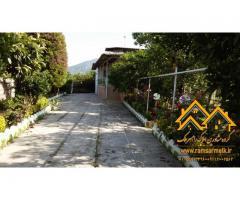فروش ویلای بسیار زیبای 3 خوابه با حیاط سازی و نوسازی کامل در رامسر (کد: 1033)