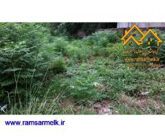 فروش زمین در رامسر با سند ششدانگ و جواز ساخت (کد: 2013)