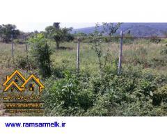 فروش زمین استثنایی در رامسر - سادات شهر به مساحت 9750 مترمربع (کد: 2014)