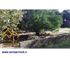 فروش زمین به متراژ 300 متر در رامسر- سادات شهر