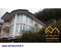 فروش ویلای لاکچری کوهپایه در رامسر (کد: 1054)